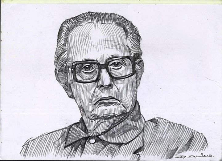 rklaxman pencil drawing