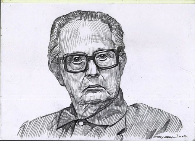 rklaxman pencil drawing by jay salian