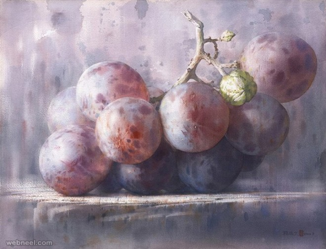 watercolor by cheng chen wen