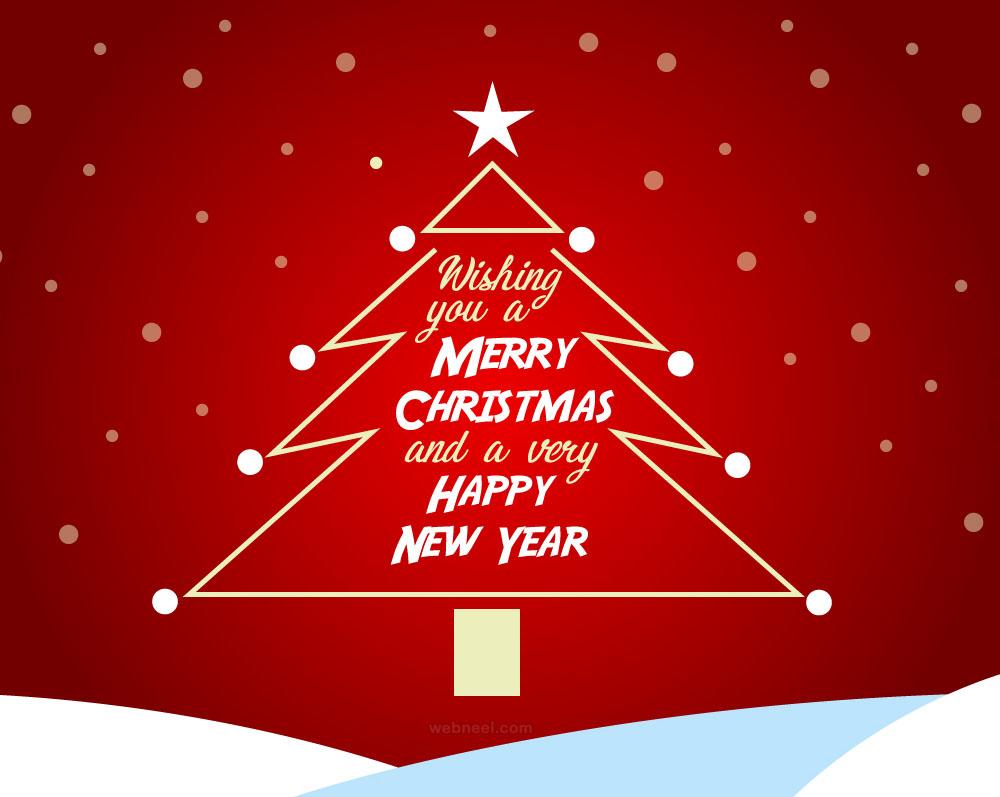 christmas greeting card design