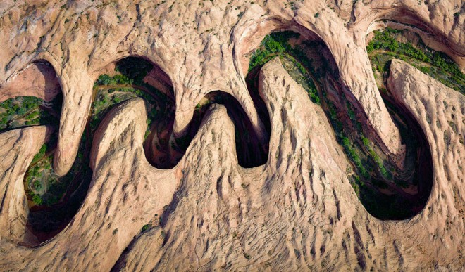 meandering canyon award winning photography by david swindle