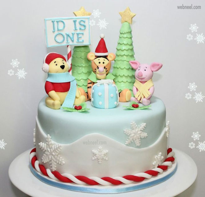 40 Beautiful Christmas Cake Decoration Ideas From Top