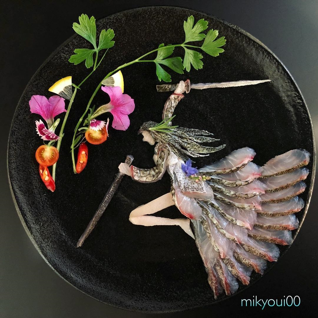 food art idea flywar by mikyou