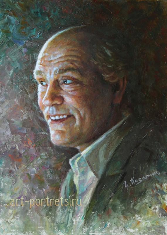 oil painting portrait john malkovich by igor kazarin