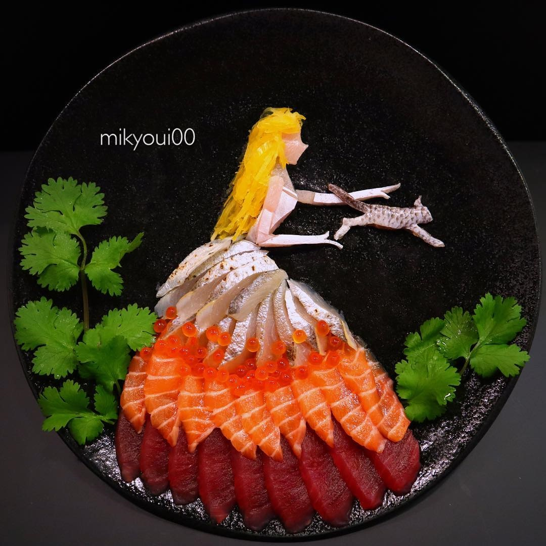 food art idea play by mikyou