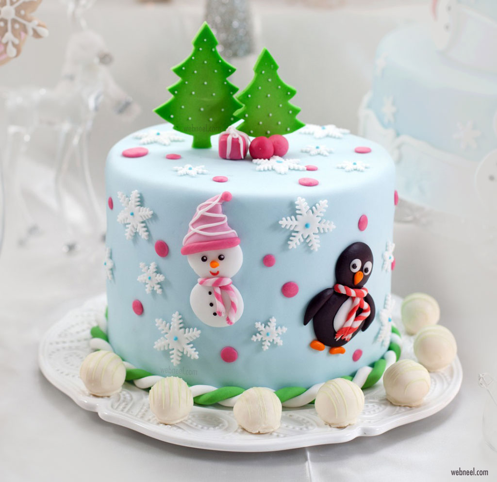 christmas cake xmas decoration ideas
