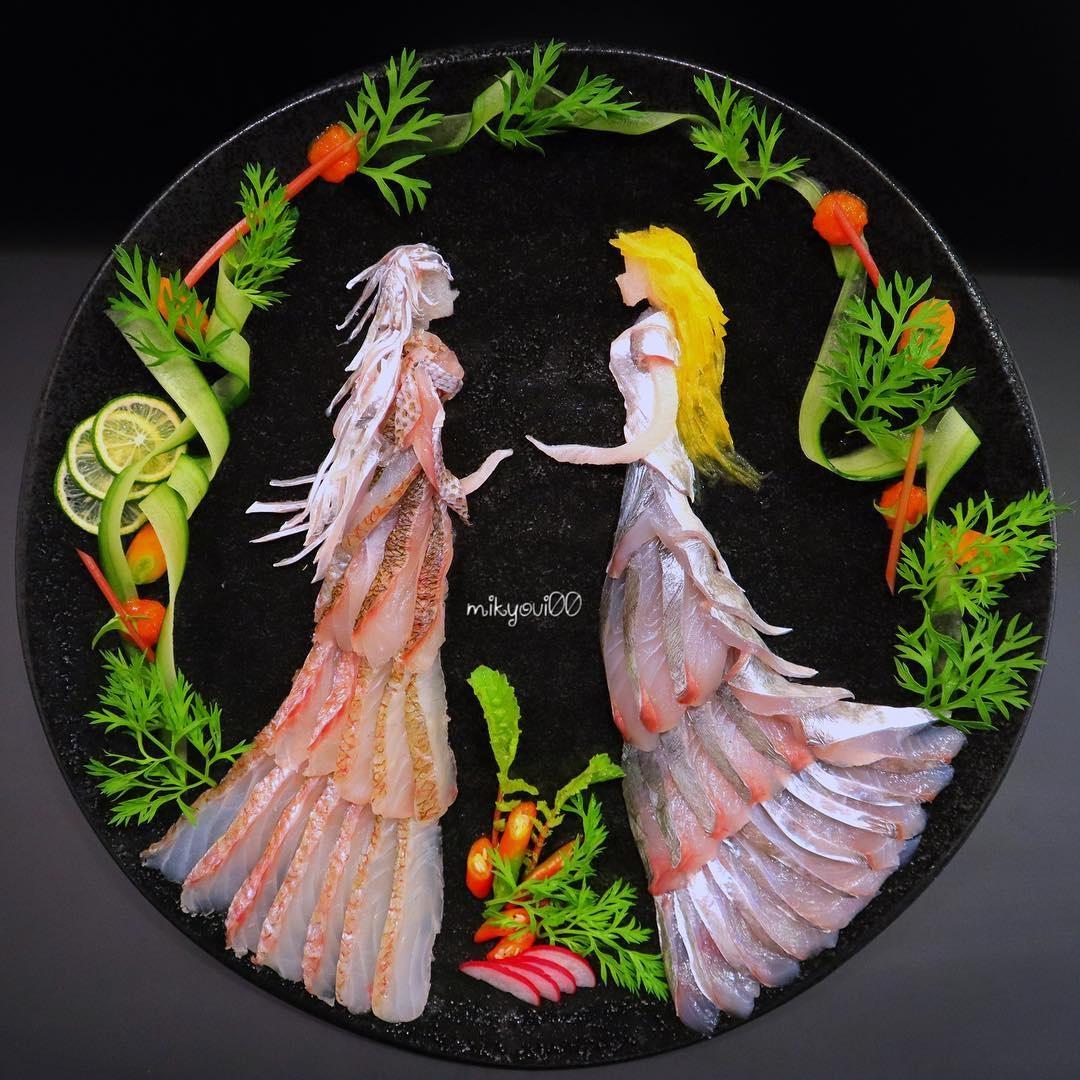 food art idea dances by mikyou
