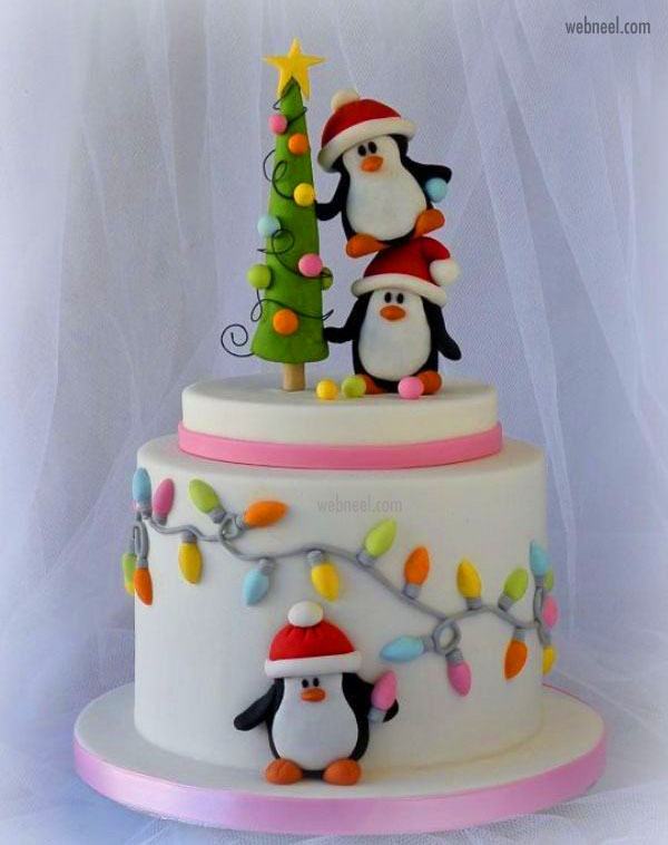 christmas cake easy idea