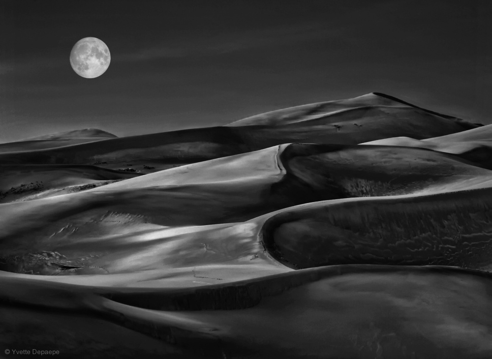 beautiful moon photography by yvette depaepe