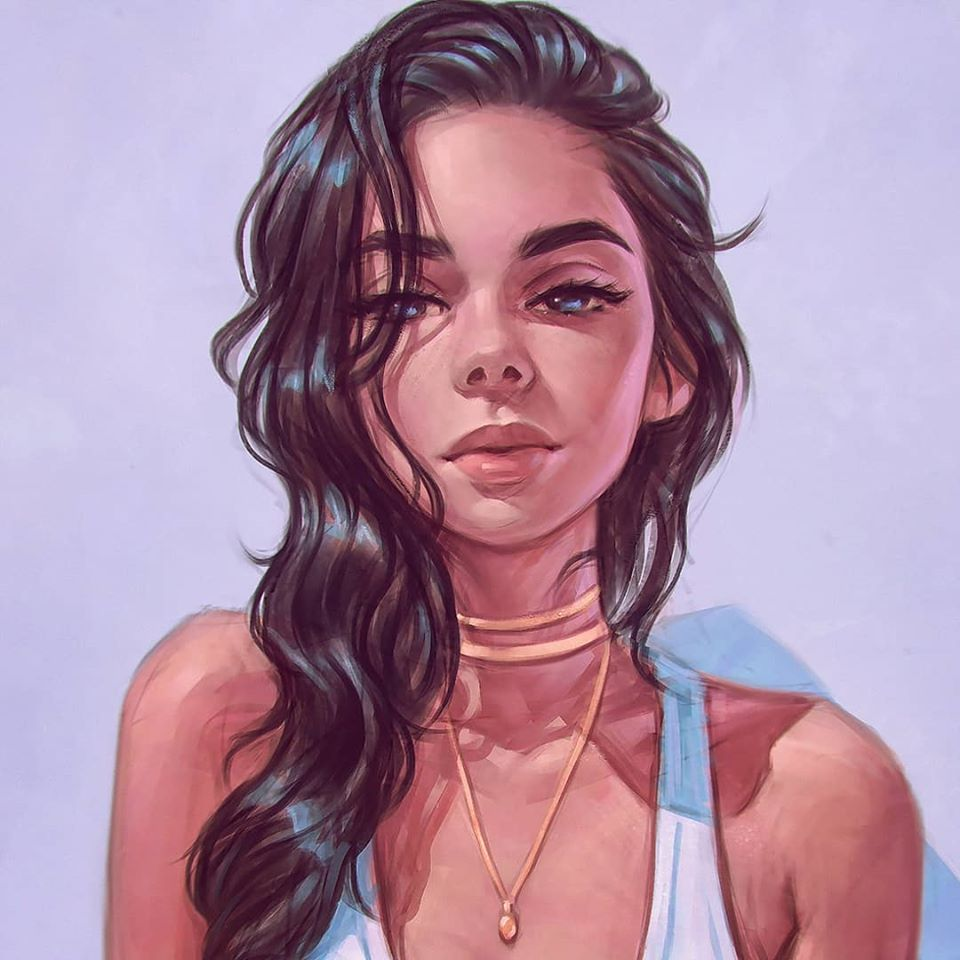 painting artwork wait
