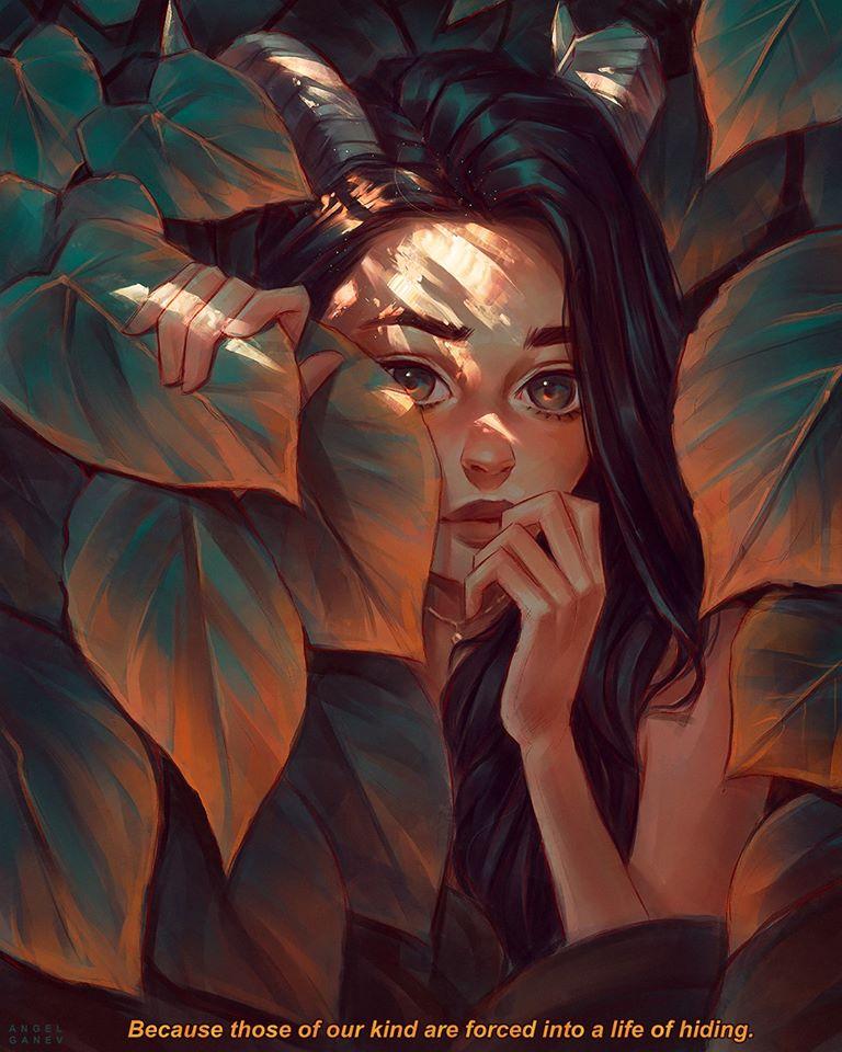 painting artwork hidden