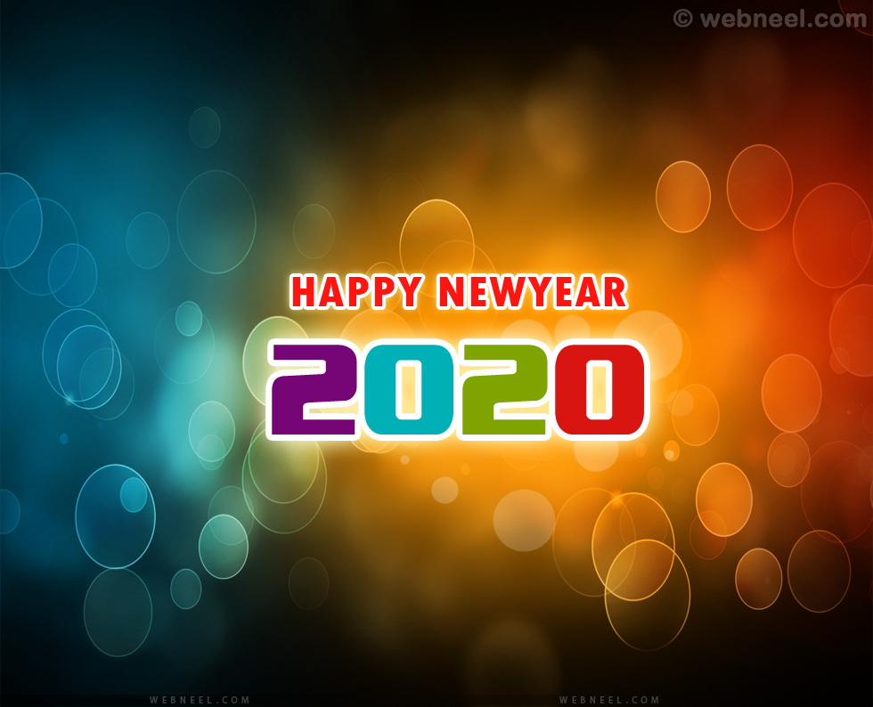 new year greeting 2020