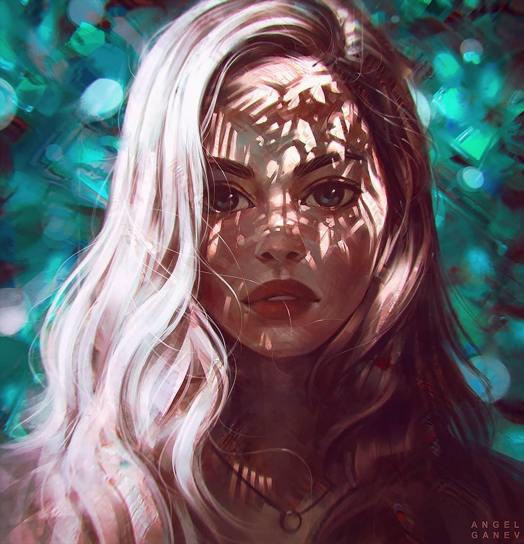 painting artwork awaken