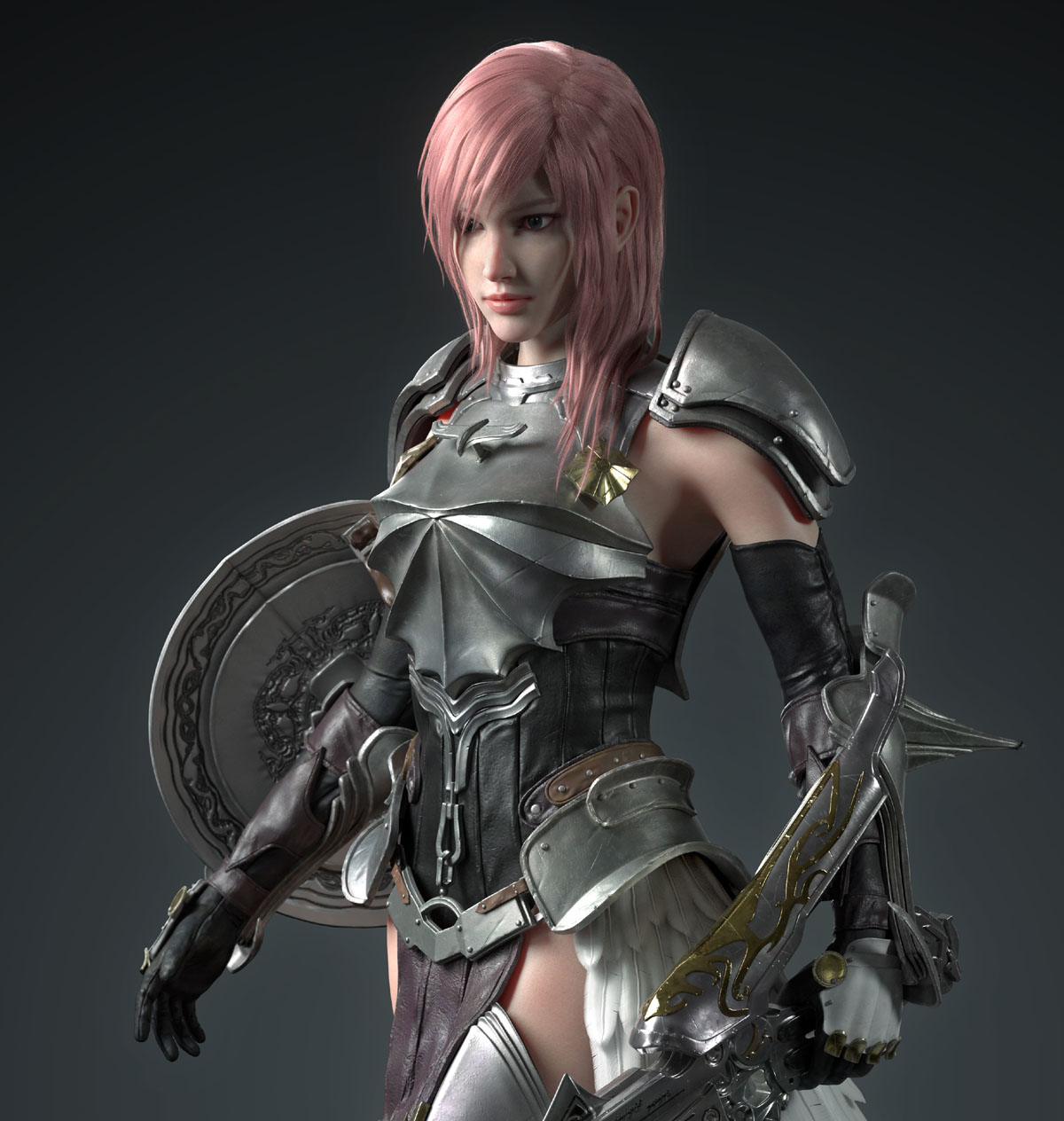 3d model game character fantasy by ycfcg