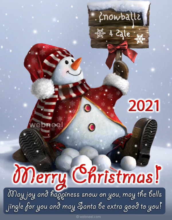christmas greeting card design