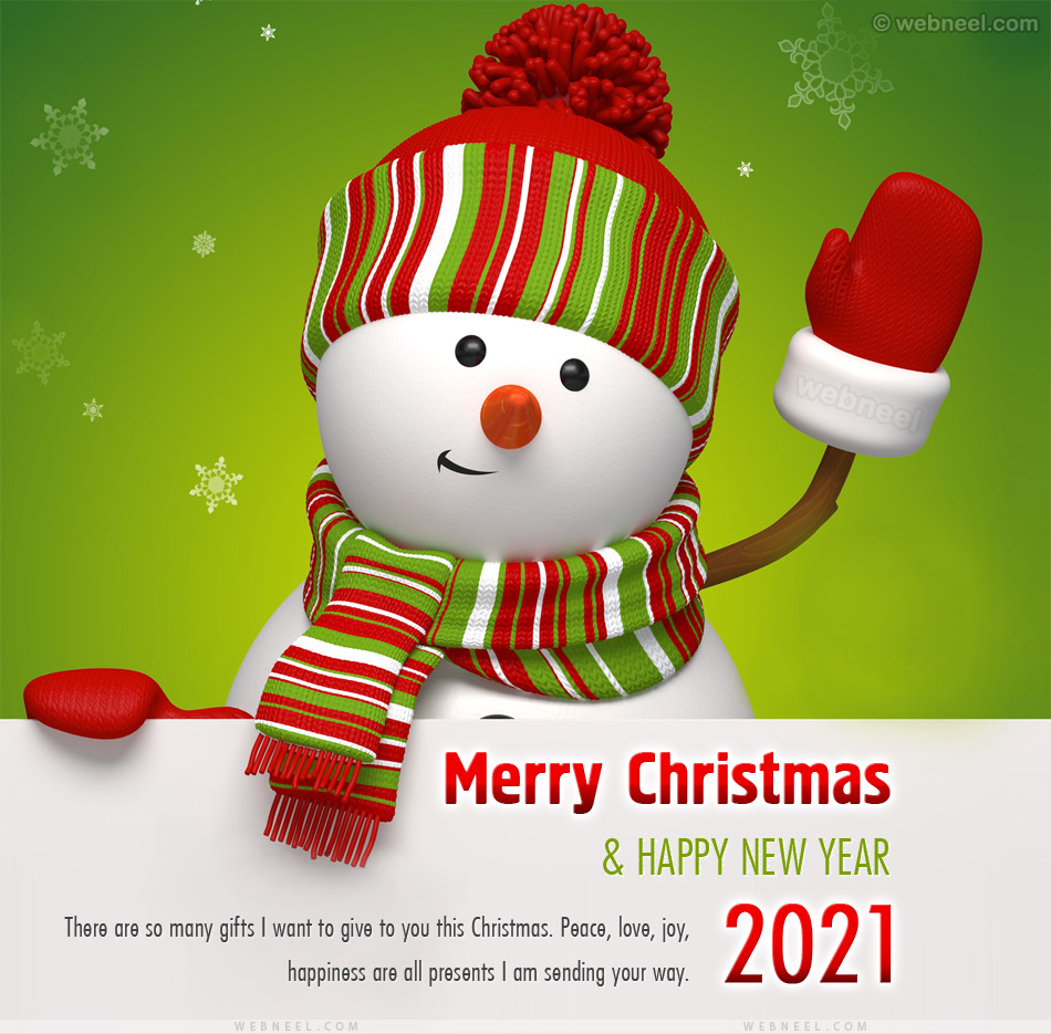 christmas greeting card 2021