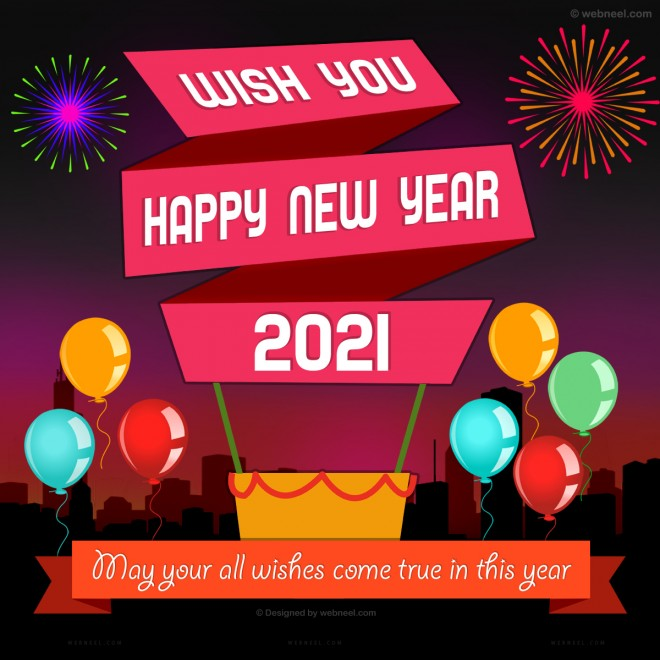 happy new year greeting card 74