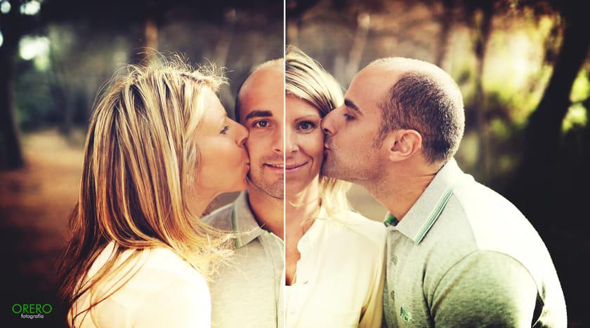 creative photography idea family portrait by manuel orero