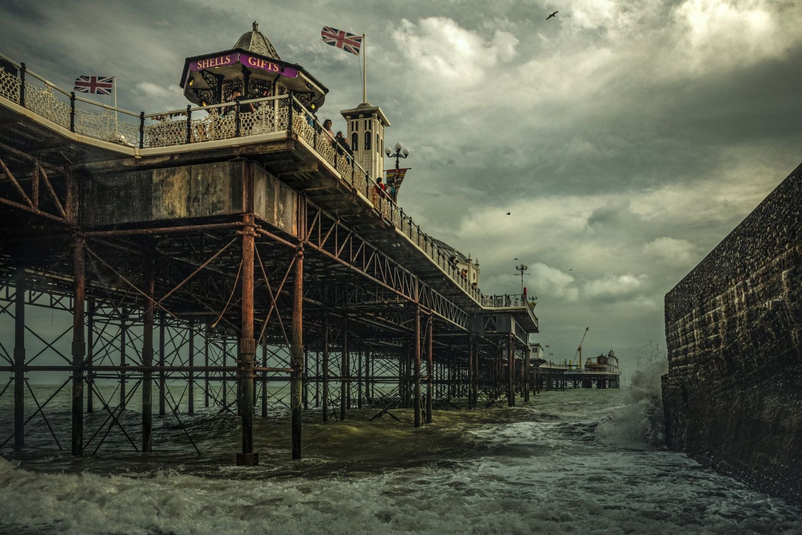 historic photographer awards pier bright by michael marsh