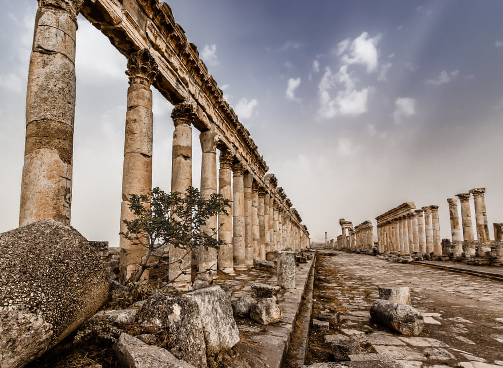 historic photographer awards syria apamea by martin chamberlain