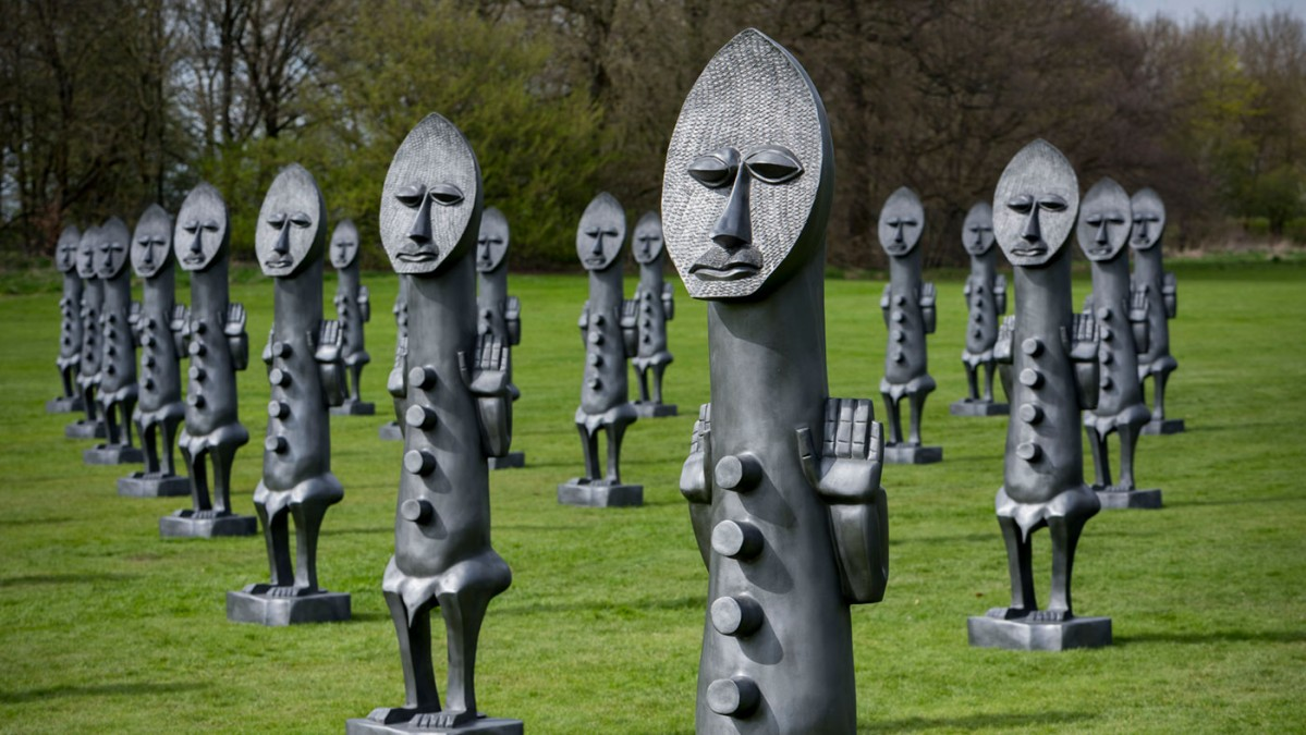 sculpture forest of dean by keir smith