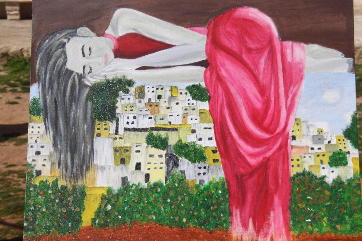 textile exhibition disolution sleep by sehba nerinin