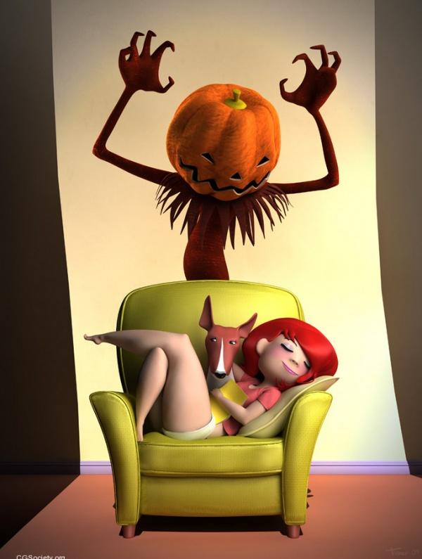 pumpkin by guillaume tiberghien
