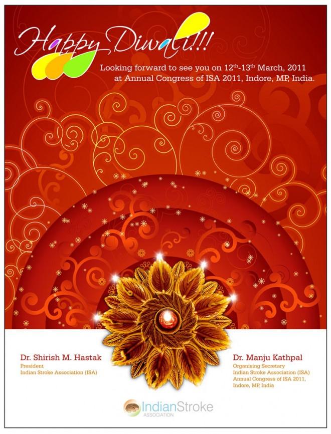 beautiful best diwali greeting card design 3