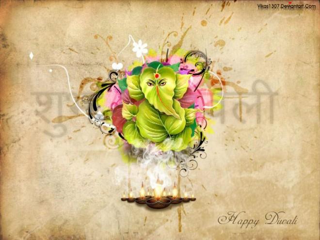 beautiful best diwali greeting card design 38