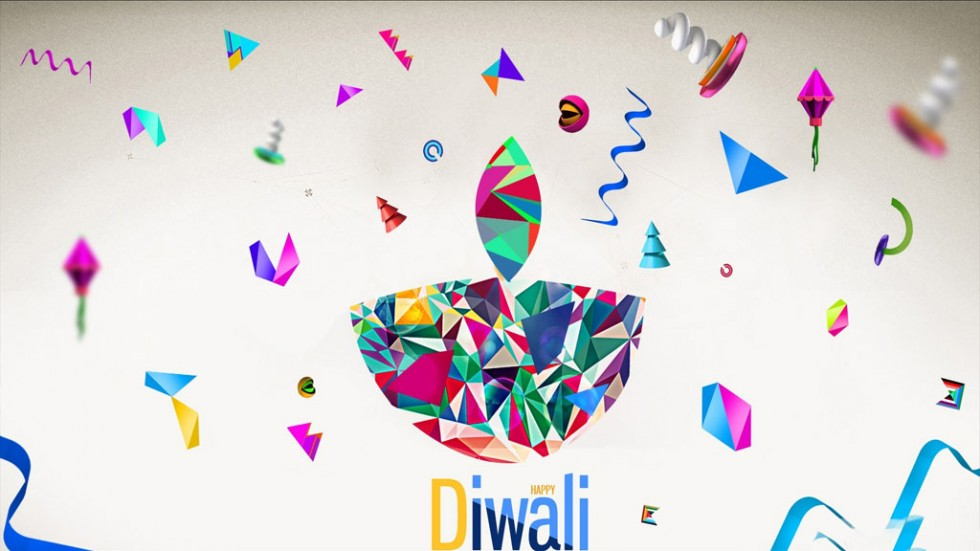 beautiful best diwali greeting card design 6