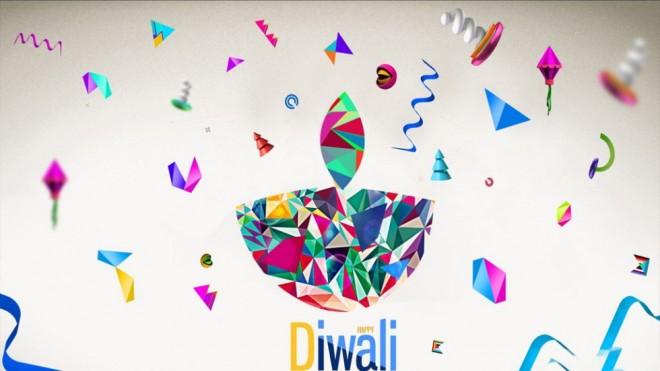 beautiful best diwali greeting card design 6