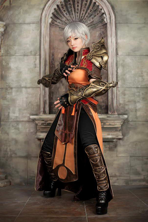 beautiful cosplay photography costume play
