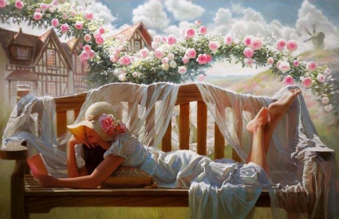 beautiful oil painting by andrei belichenko 2