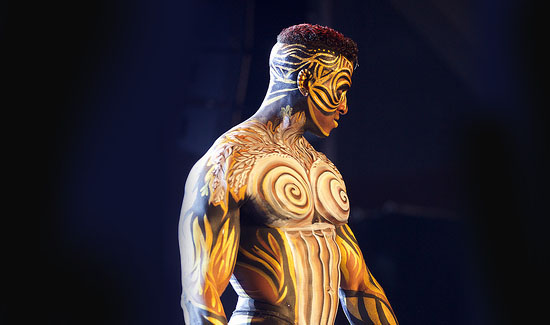 body painting art