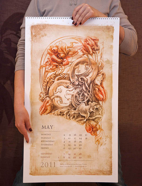 calendar illustration