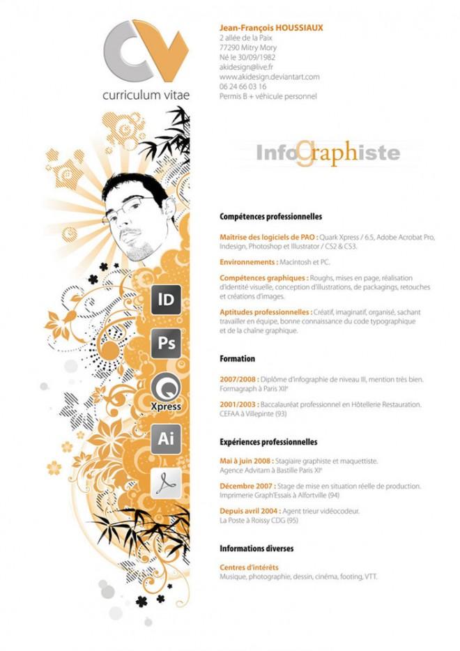 creative resume design 1