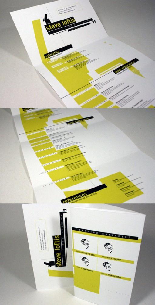 creative resume design 4