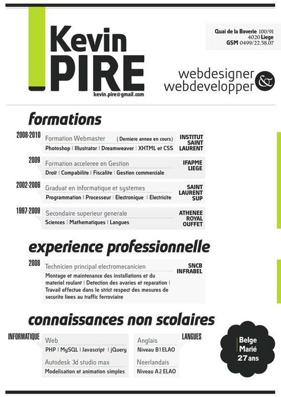 creative resume design 8