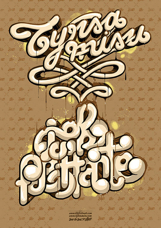 creative typography design 3