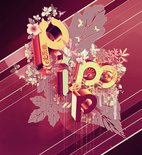creative typography illustration design (14)