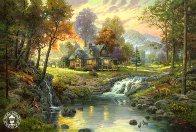 disney paintings thomas kinkade (8)