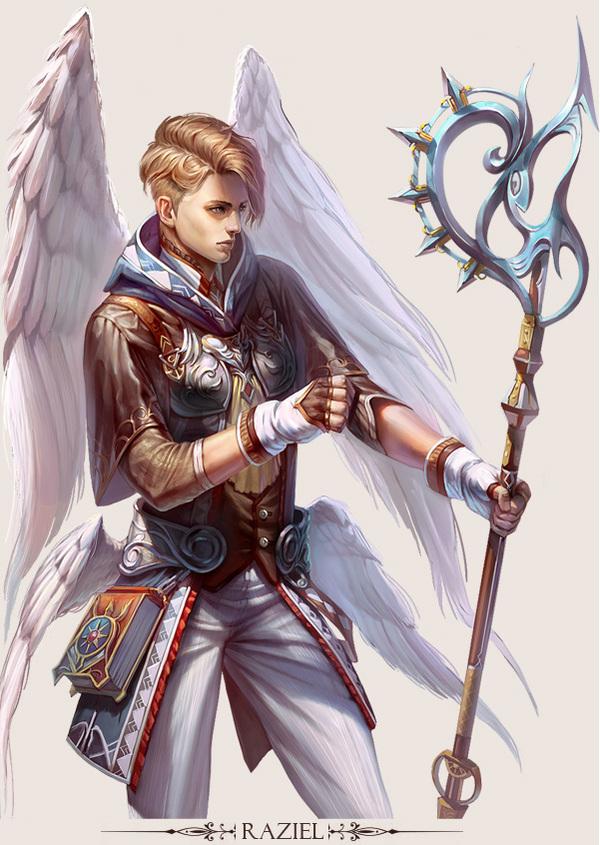 game character design fantasy art hong yu 10