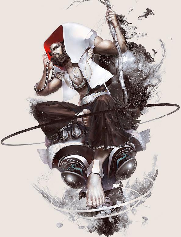 game character design fantasy art hong yu 12