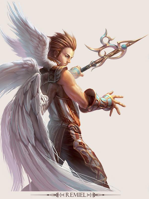 game character design fantasy art hong yu 13