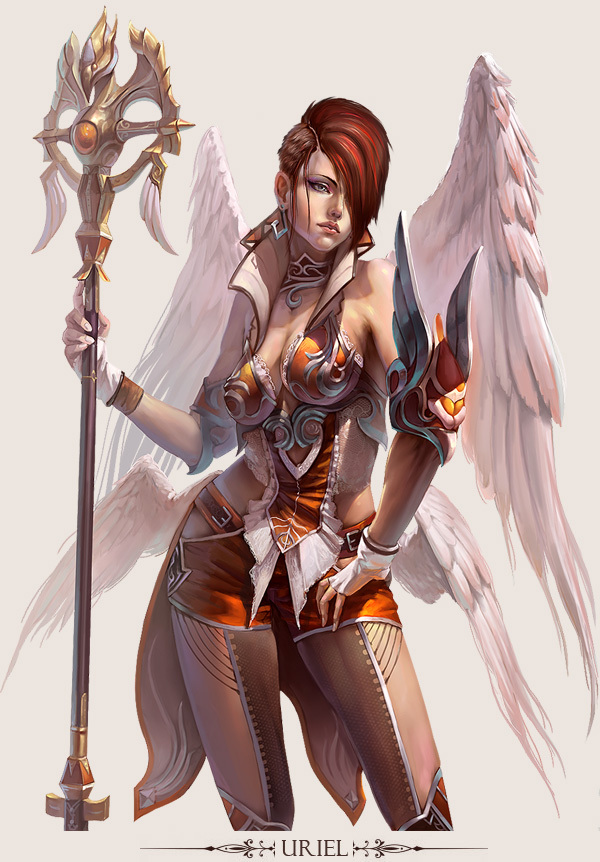 game character design fantasy art hong yu 15
