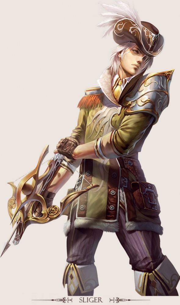 game character design fantasy art hong yu 16