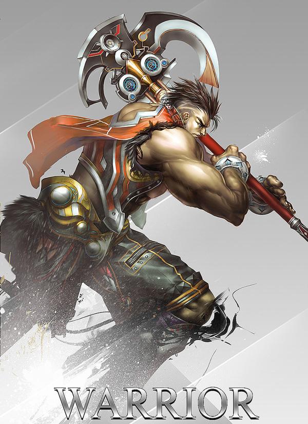game character design fantasy art hong yu (21)