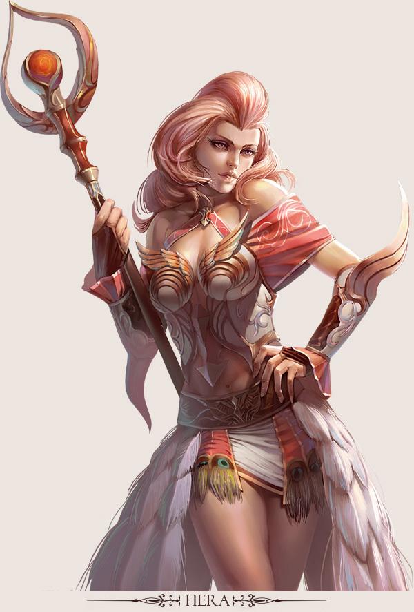 game character design fantasy art hong yu (5)