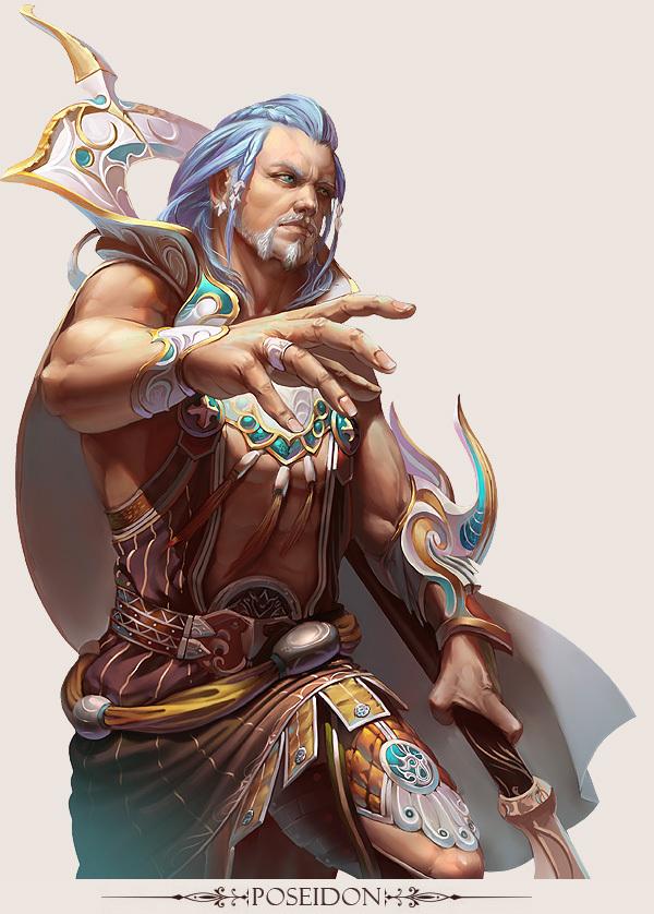 game character design fantasy art hong yu 8