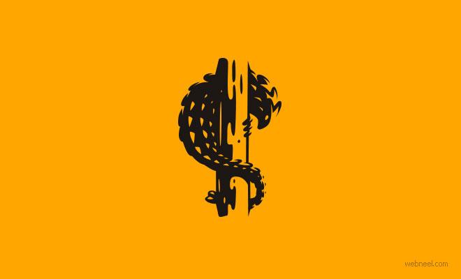 logo design pangolin by martigny